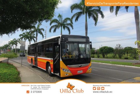servicio de transporte exclusivo villaclub