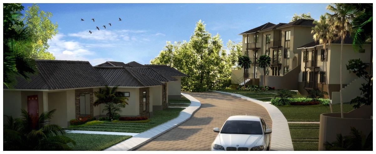 Modelos de casas exclusivos en la feria habitat for Modelo de casas villa club