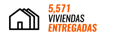 5571 viviendas entregadas