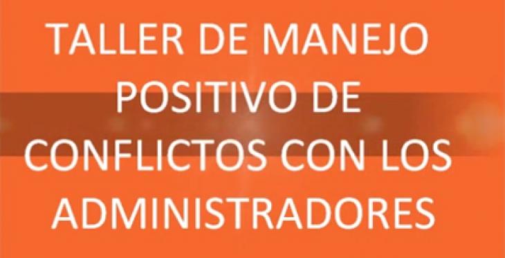 Taller de manejo positivo de conflictos