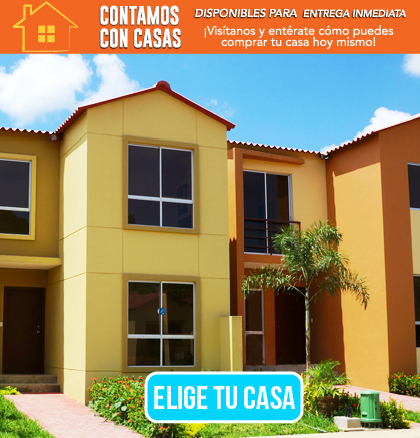 Casas disponibles para entrega inmediata
