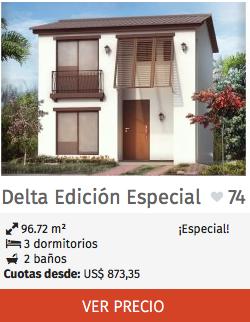 Casas Edición Especial Delta