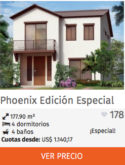 Casas Edición Especial Phoenix