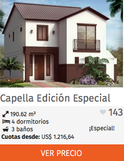 Casas Edición Especial Capella