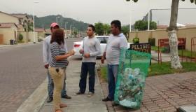 reciclaje villa club hermes