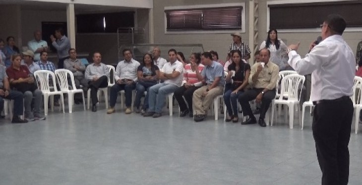 Colaboradores de Villa Club participaron en simulacro