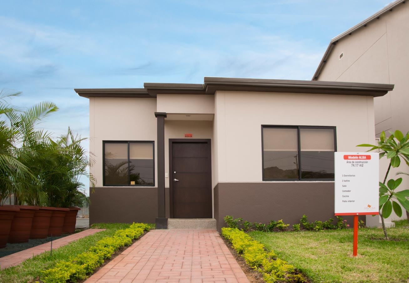 Conoce las casas de la urbanizaci n omega villa club for Modelo de casas villa club